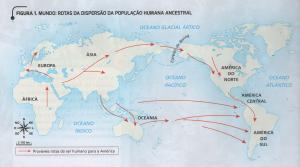 mapa migração